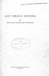 Lucy Sprague Mitchell