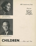Children ...Here and Now [No. 5, 1957] : 40th Anniversary Issue by Bank Street College of Education