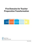Five Domains for Transforming Teacher Preparation