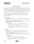 Teacher Residency Website Guidance